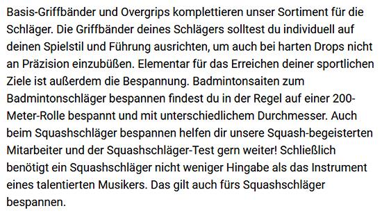 Badmintonbekleidung für Herren für Hamburg